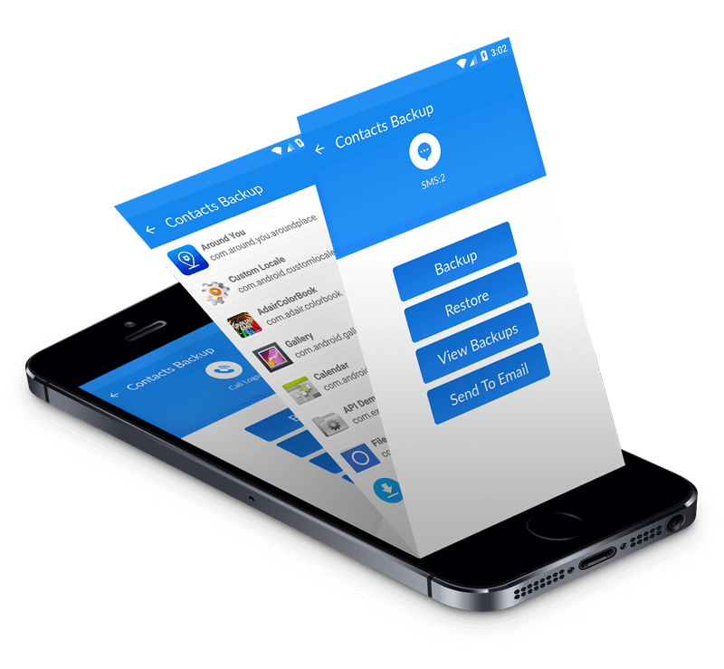 mobile contacts backup app features