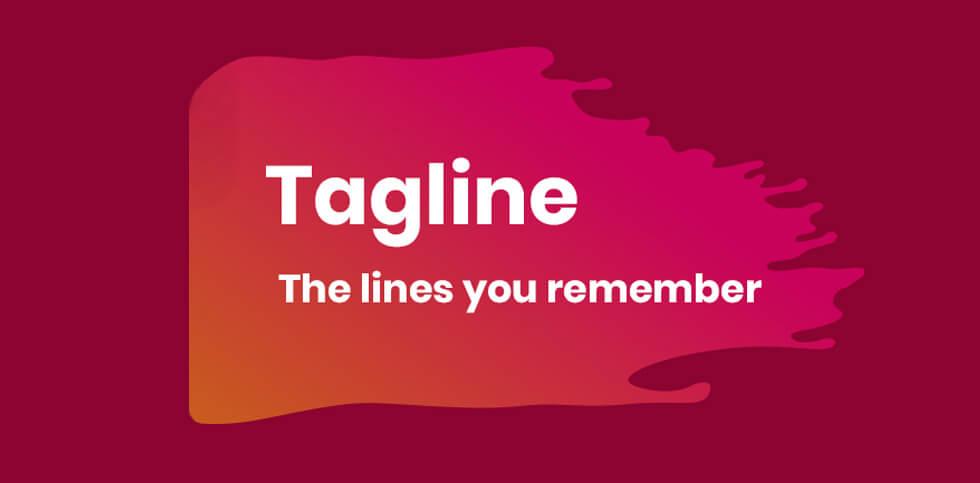 memorable product tagline