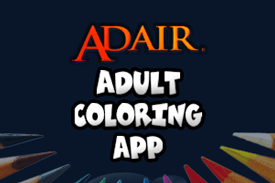 Adair Adult Coloring Application