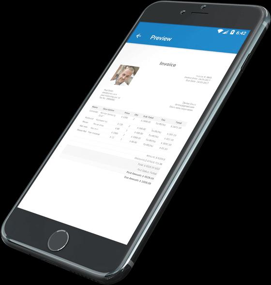 Invoice maker app development solutions