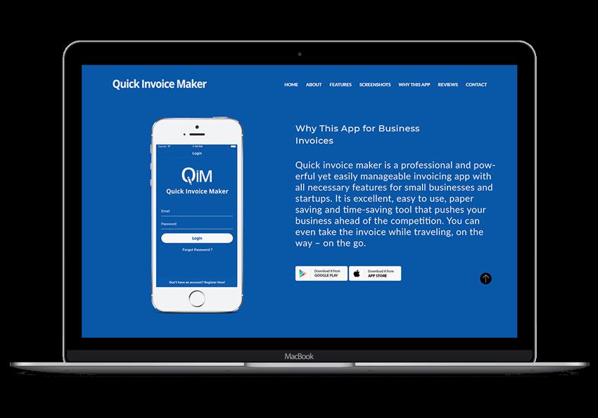 Business Invoice App