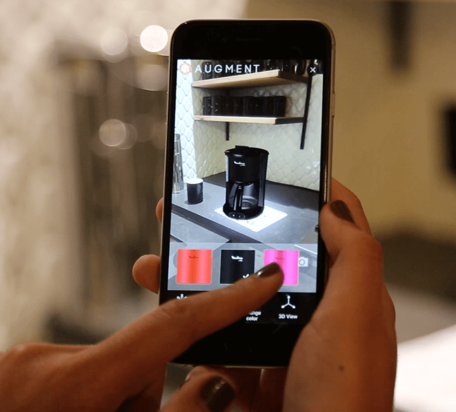 product customization with AR