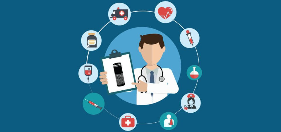 Alexa integration in healthcare