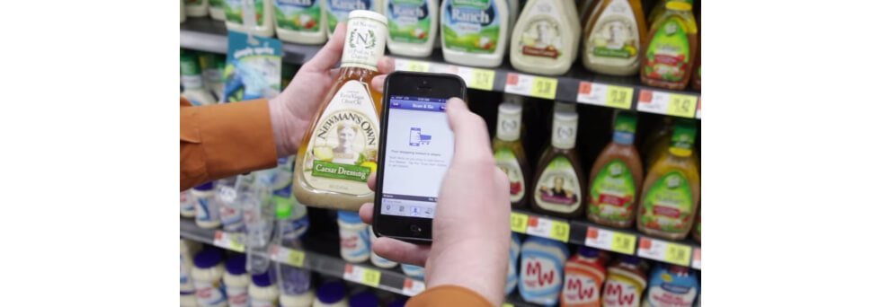 Mobile scanning go solution for retail business