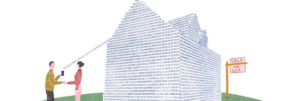 Application of bitcoin in the real estate sector