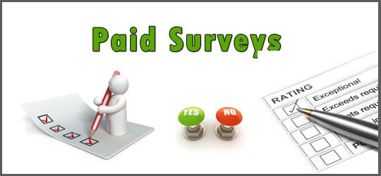 Make a paid survey