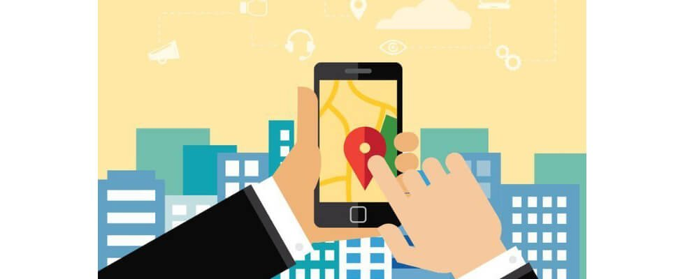 Location-based services in retail mobile applications