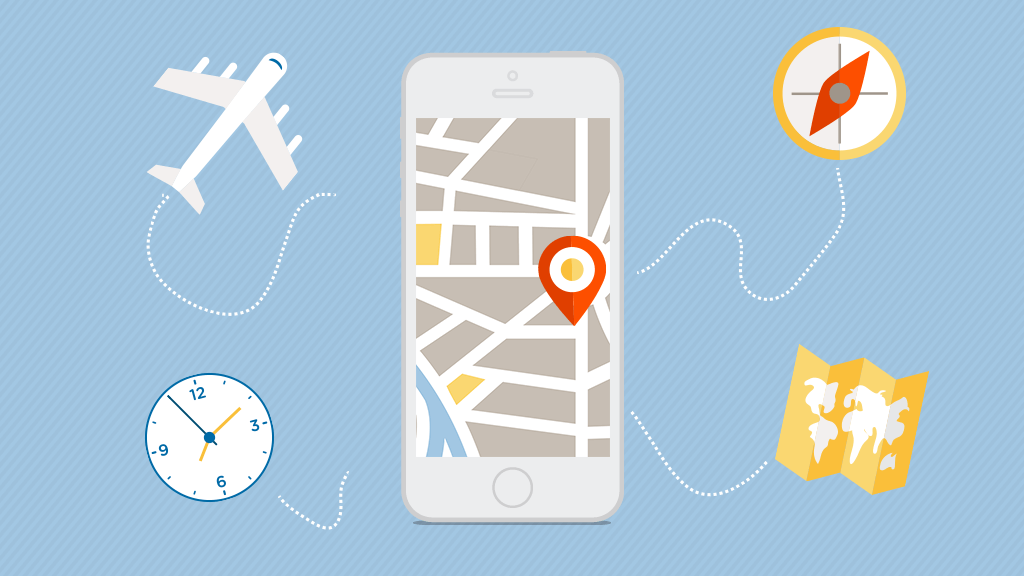 travel apps offer details of the tourist locations