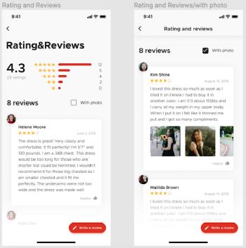 User Reviews & Ratings
