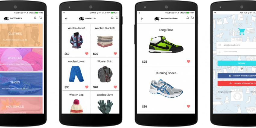How to develop an ecommerce app?