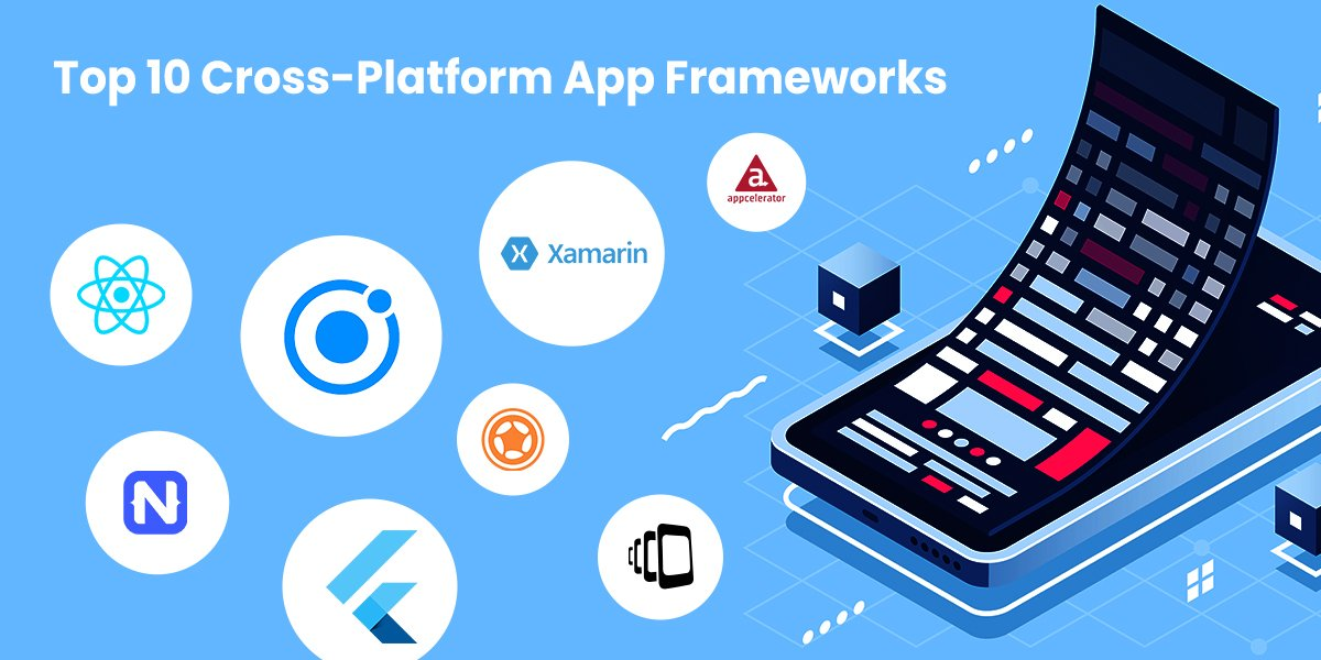 Top 10 Cross-Platform frameworks for Mobile App Development