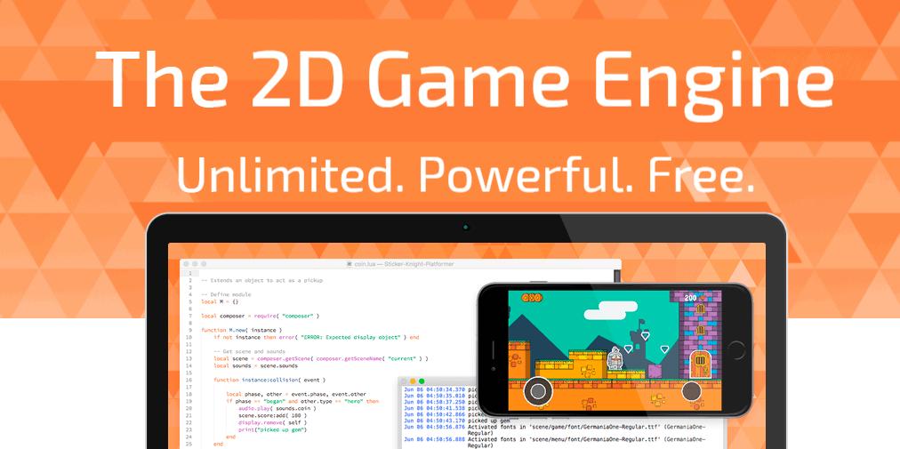 Corona - 2D/3D App Development Tool