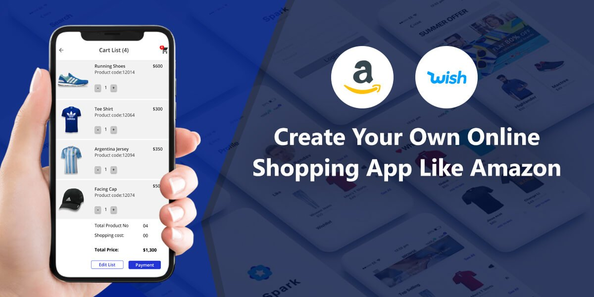 Create Your Own Shopping App like Amazon to Sell Stuff Online