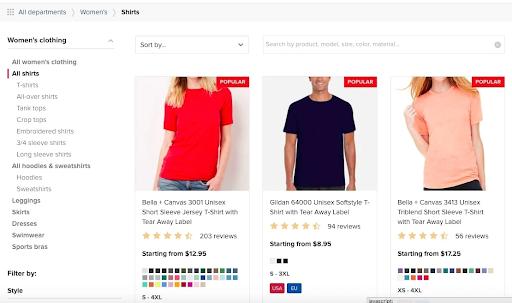 Print-on-Demand Clothing