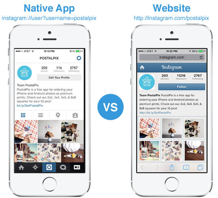 Mobile Apps Vs. Responsive web design