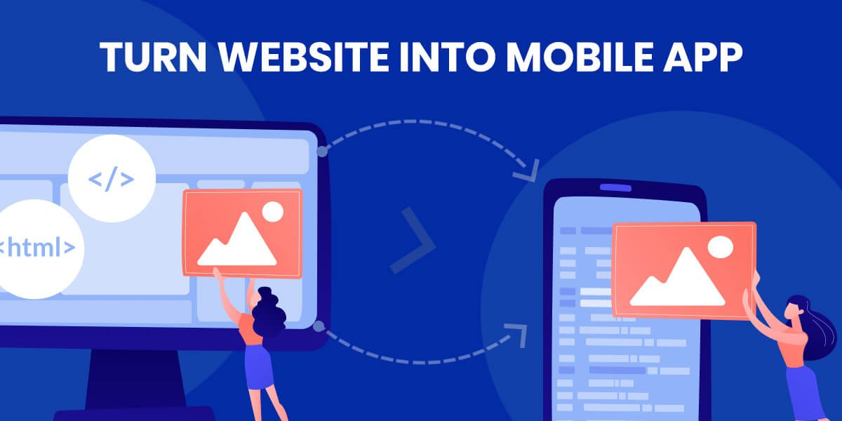 How to turn a website into an app?