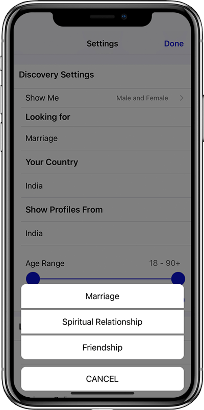 Abha Advanced Search Filters