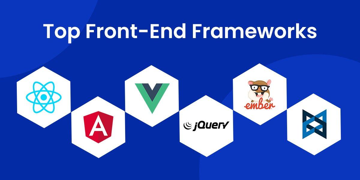 Top Front-End Frameworks in 2021