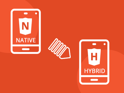 Convert Native to Hybrid App