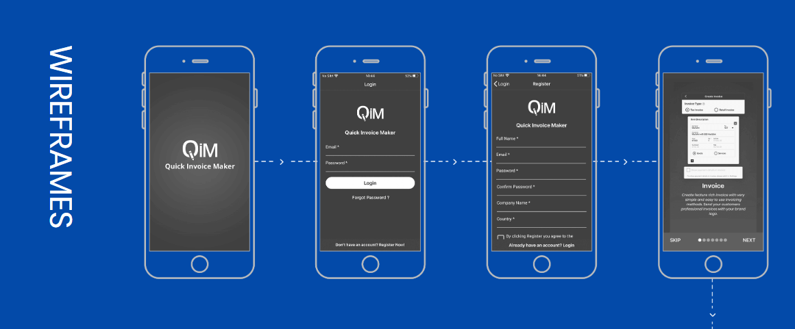 Creating Wireframes