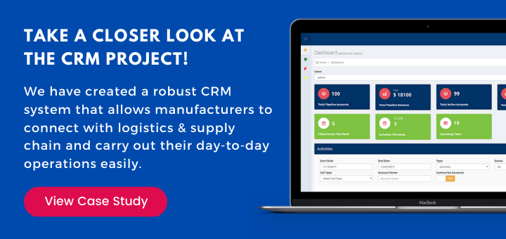 take a closer look at the crm project