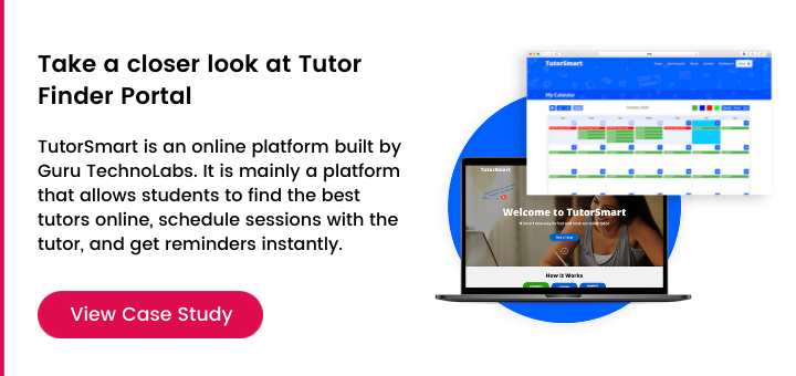Take a closer look at tutor finder portal