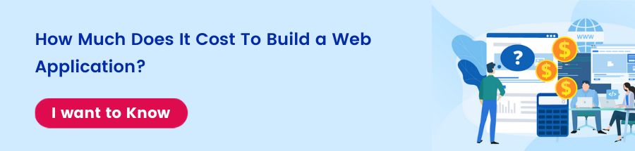 How much does it cost to build a web application