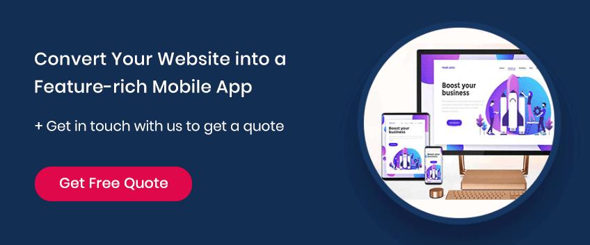 Convert Your Website into Beautiful App