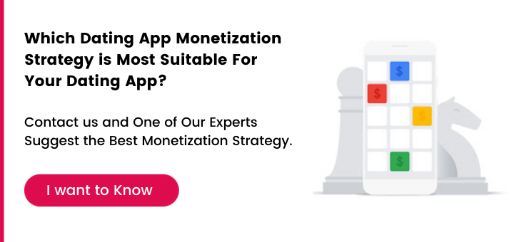 which dating app monetization strategy is most suitable for your dating app