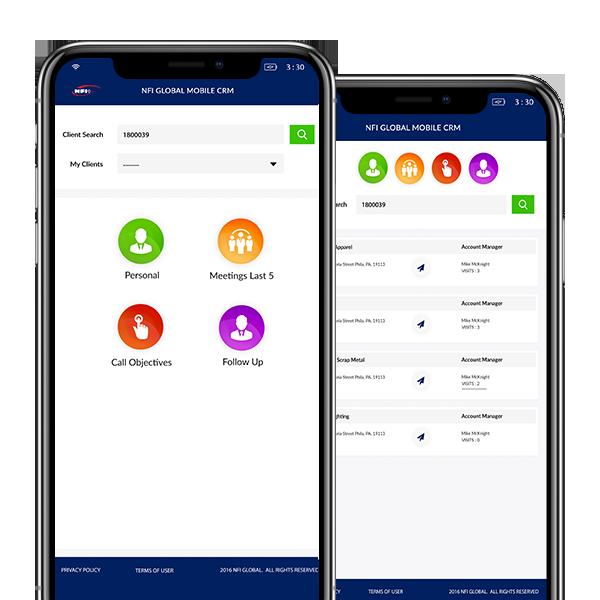 Custom Relationship Management App