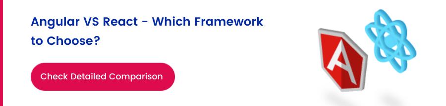 angular vs react - which framework