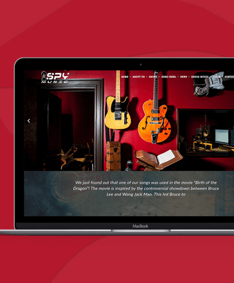 Music Composer Website